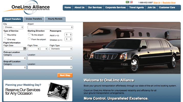 Sim WebOneLimoAlliance.com